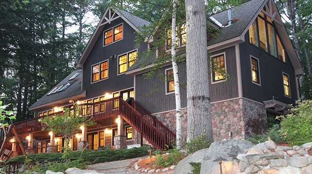 Lake Winnipesaukee Waterside Home